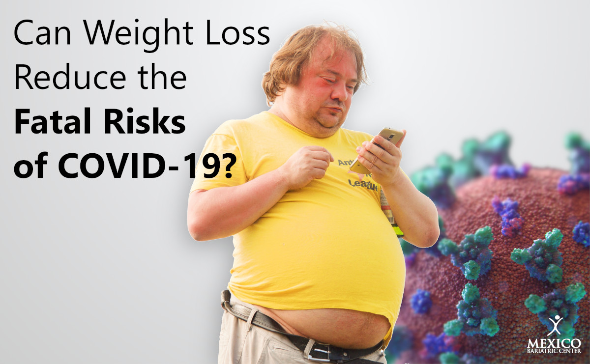 Can Weight Loss reduce the Fatal Risks of COVID-19?