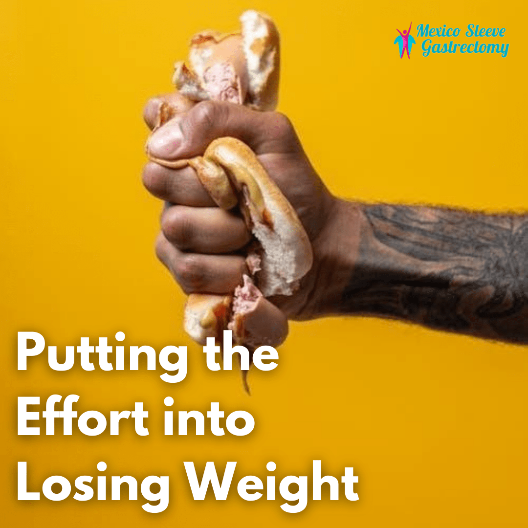 Putting the effort into losing weight